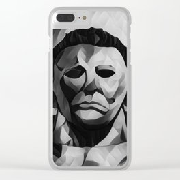 Michael Myers Clear iPhone Case
