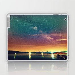 Milky Way Colorful Sunset Laptop & iPad Skin