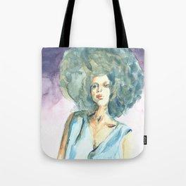 Green lady Tote Bag