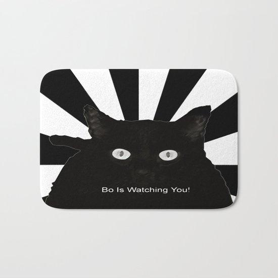 Bo Is Watching You! Bath Mat