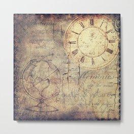 Confusing Time Metal Print