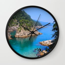 Carving Out Wonders Wall Clock