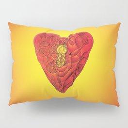 Heart Lock Abstract NeoNeoCubism Pillow Sham