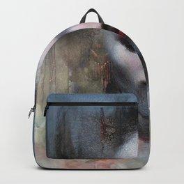 The ikebana woman Backpack
