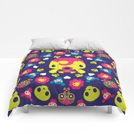 Monster Mandala #4 Comforters
