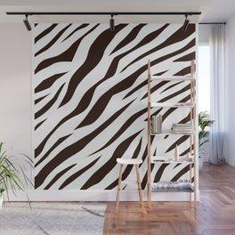 BLACK AND WHITE ANIMAL SKIN DESIGN Wall Mural