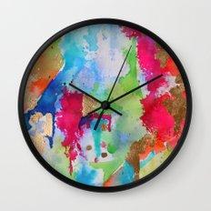 Lisa Print Wall Clock