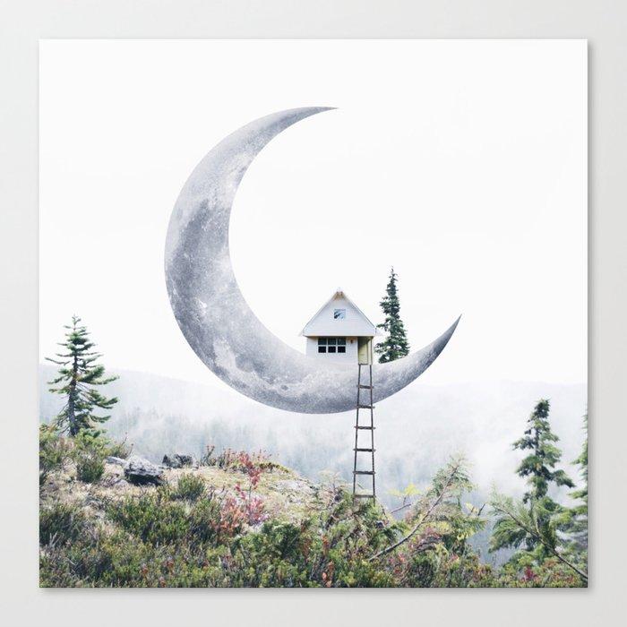 Moon House Leinwanddruck