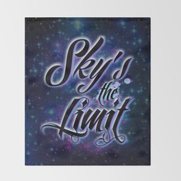 Sky's The Limit Throw Blanket