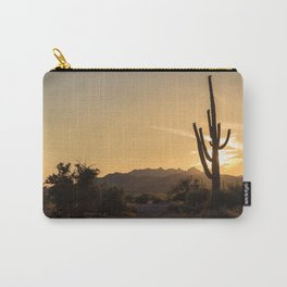 Saguaro Sunset Salute Carry-All Pouch