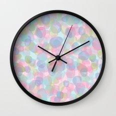 Pebbles Lavender Wall Clock