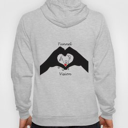 Tunnel Vison (love is a pit bull No.3) Hoody
