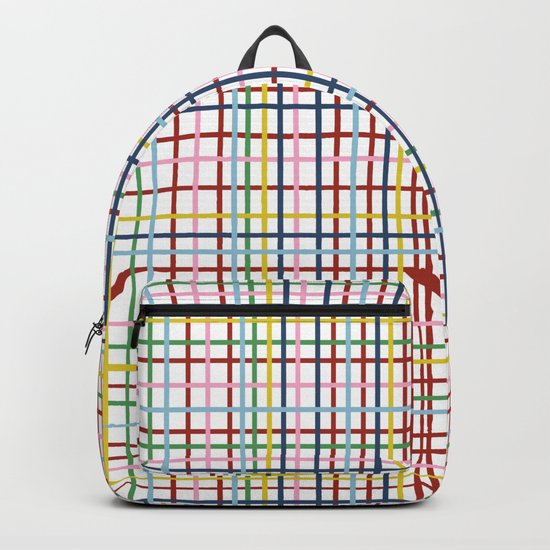 Rainbow Weave Backpack