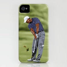 TIGER WOODS I iPhone (4, 4s) Slim Case