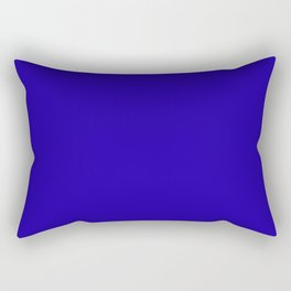 Neon Blue - solid color Rectangular Pillow