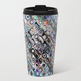 Colorful Abstract Pattern Travel Mug