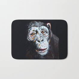 Chimpanzee: One Survivor Bath Mat