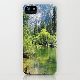 Merced river at Yosemite iPhone Case