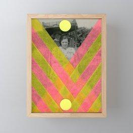 Neon Trap Framed Mini Art Print