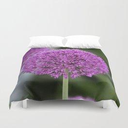 Giant Allium Duvet Cover