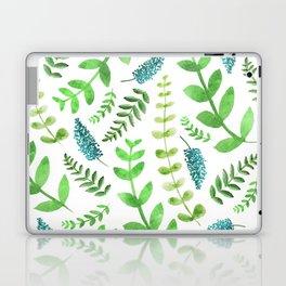 Greenery Leaves Pattern Laptop & iPad Skin