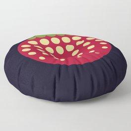 strawberry    russian black Floor Pillow