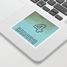 Ilium Public Library Card No. 4 Sticker