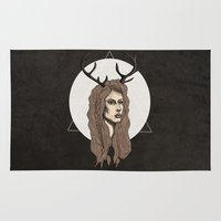 fawn Area & Throw Rugs featuring Fawn by FAIIINT