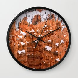 Bryce Canyon - Sunset Point IV Wall Clock