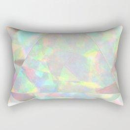 Milky White Opal Rectangular Pillow