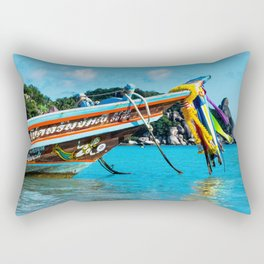 Long-Tail Koh Tao, Thailand Rectangular Pillow