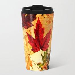 fallen leaves I Travel Mug