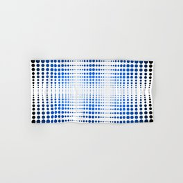 Blue dot, dot, dot Hand & Bath Towel