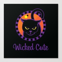 Wicked Cute Canvas Print