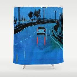Nightscape 03 Shower Curtain