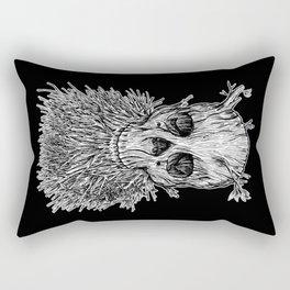 Lumbermancer B/W Rectangular Pillow