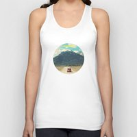 never stop exploring Tank Tops featuring NEVER STOP EXPLORING III by Leslee Mitchell