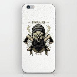 Fortitude (Lumberjack) iPhone Skin