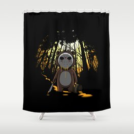 Honey On The 13th Shower Curtain
