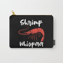 Shrimp Whisperer Seafood Crayfish Lobster Gift Carry-All Pouch