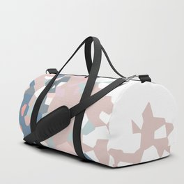 love the world to pieces pinks and grays Duffle Bag