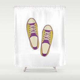 converse all star Shower Curtain