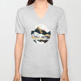 Winters Day Unisex V-Neck
