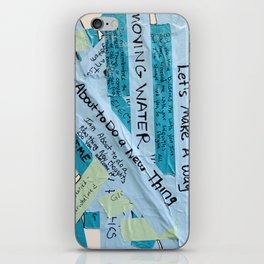 Layered Voices iPhone Skin