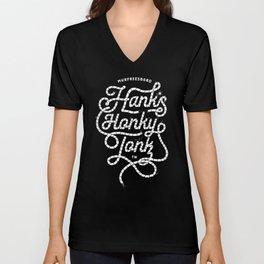 Hanks Honky Tonk Rope Unisex V-Neck