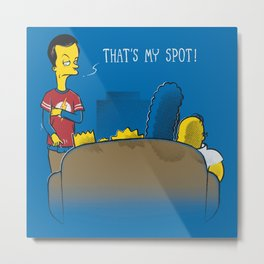 That's My Spot Metal Print