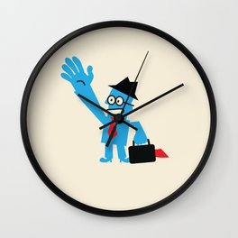 FROM ANOTHER PLANET Wall Clock