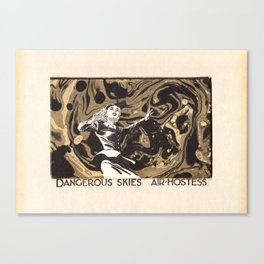dangerous Canvas Print