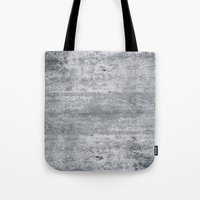 concrete Tote Bags featuring Concrete by Grace