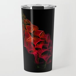 Fantastical Phosphorescent Foxglove Travel Mug